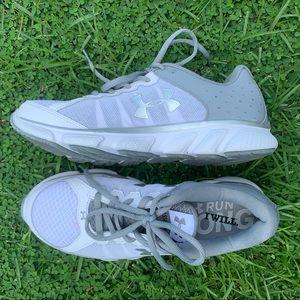 Under Armour Micro G Assert 6 Running Shoe White